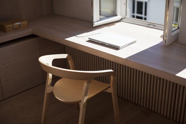 Tobias Petri — Carpenter, Apartment, office and workshop, Munich.