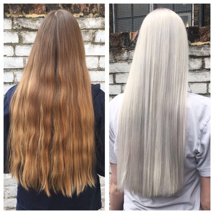 If you want to make a statement.....here is how to do it at the klinik! Plenty of pre lighteners, a generous amount of Olaplex and a fabulous toner to finish off. On this occasion Thea used Schwarzkopf Igora Royal Silver White. A simply stunning result that is definitely making a statement. Silver grey is the new blonde! thekliniksalon Exmouth Market