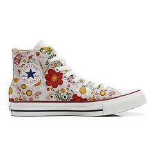 Converse PERSONALIZZATE All Star Hi Canvas, Sneaker Uomo/Donna (Prodotto Artigia