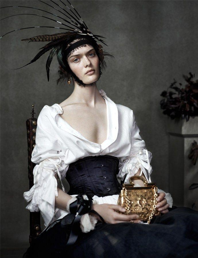 Anna Ewers, Sam Rollinson & Ashleigh Good for Vogue UK December 2013