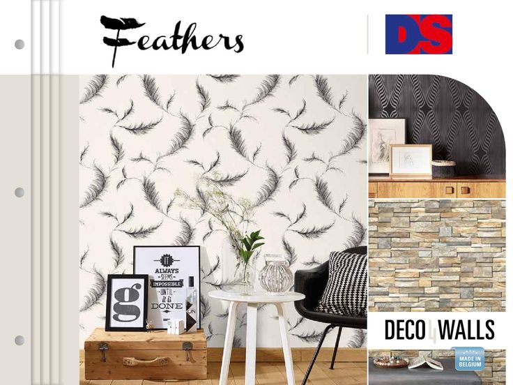 Feathers  Explore our on-trend Vinyl wallpaper collection.