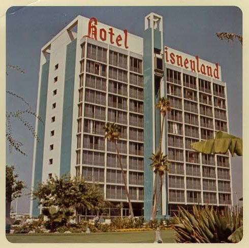 ORIGINAL Disneyland Hotel. Stayed there two weeks after it opened.