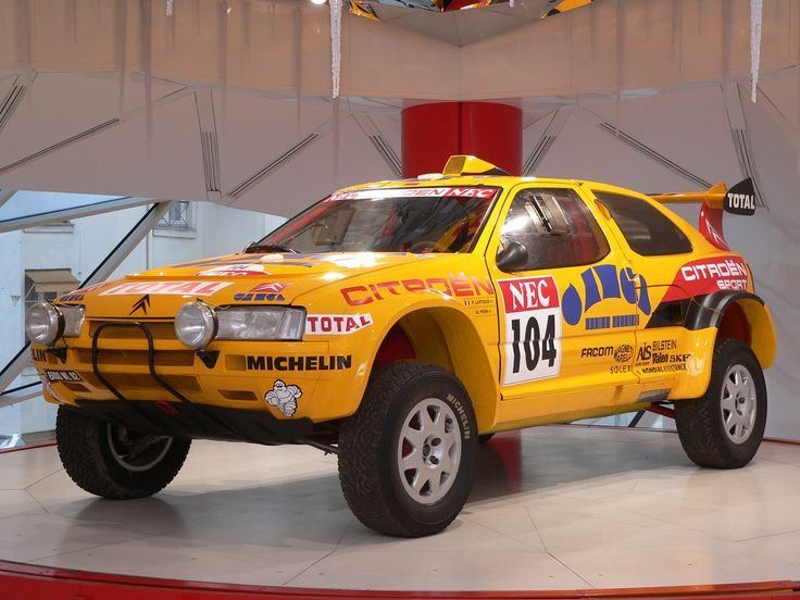 Citroen ZX, lifted for offroading