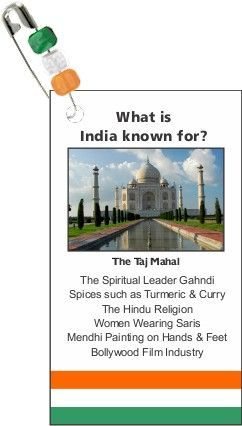 India for Thinking Day? Make trading card swaps from MakingFriends.com. Every country available