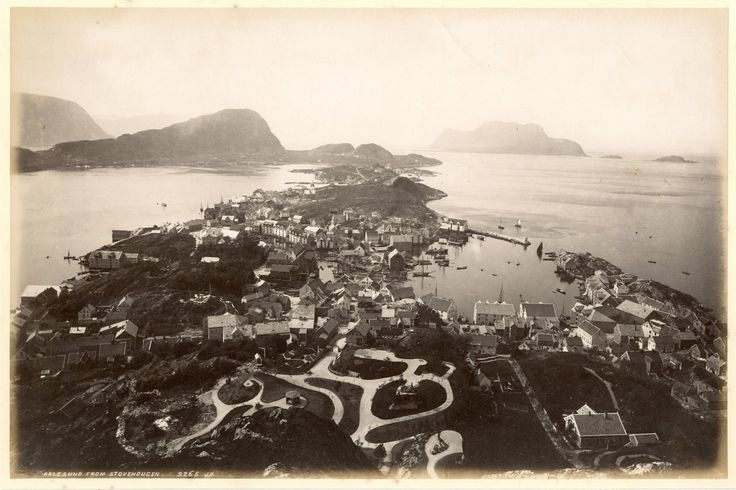 J.V., Norway, Aalesund from Stove Hougen #Europe #Norvège_Norway_Norge