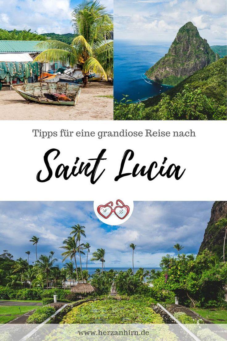 Traumziel Saint Lucia Die Karibik Insel Mit Allen Sinnen Entdecken In 2020 Reisen Abenteuerurlaub Karibik
