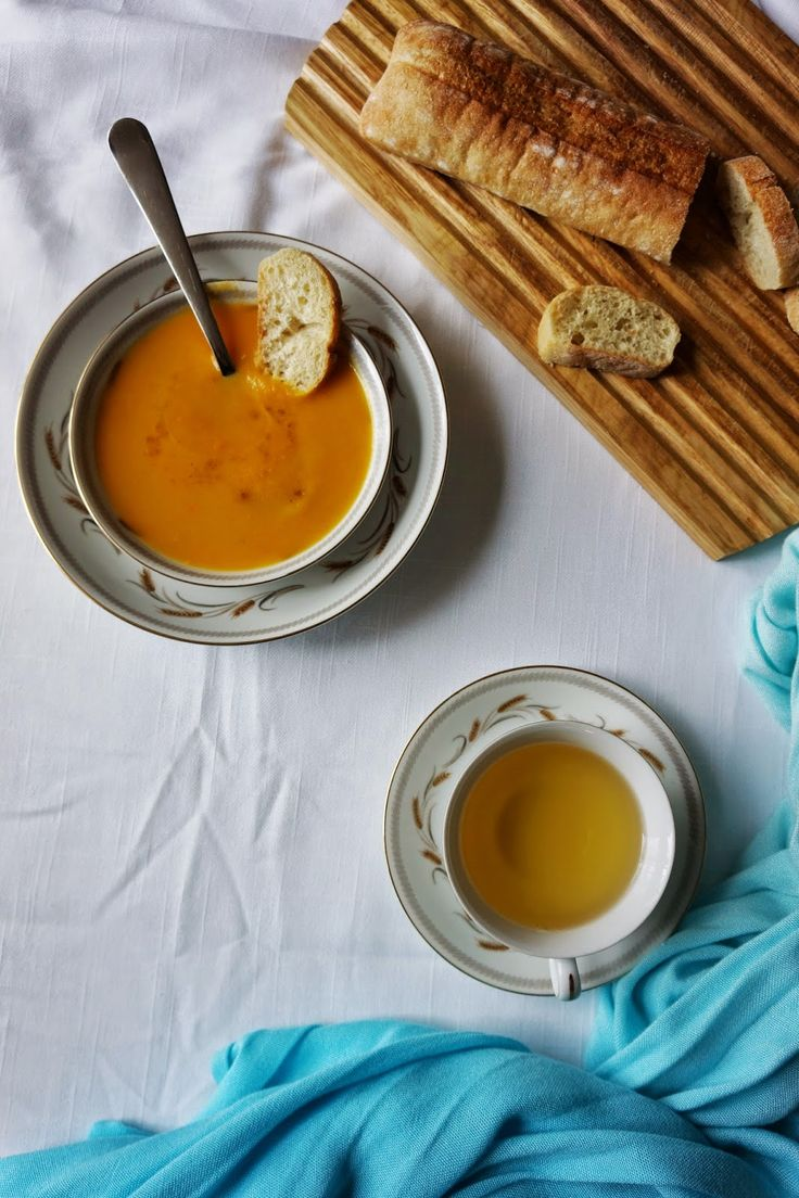 Ralu TeRa: Cream of carrot and ginger soup