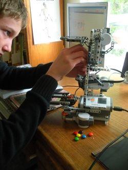 Lego robotics in high school