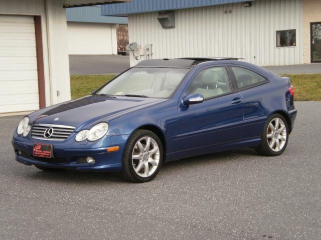 2004 Mercedes C320 Coupe
