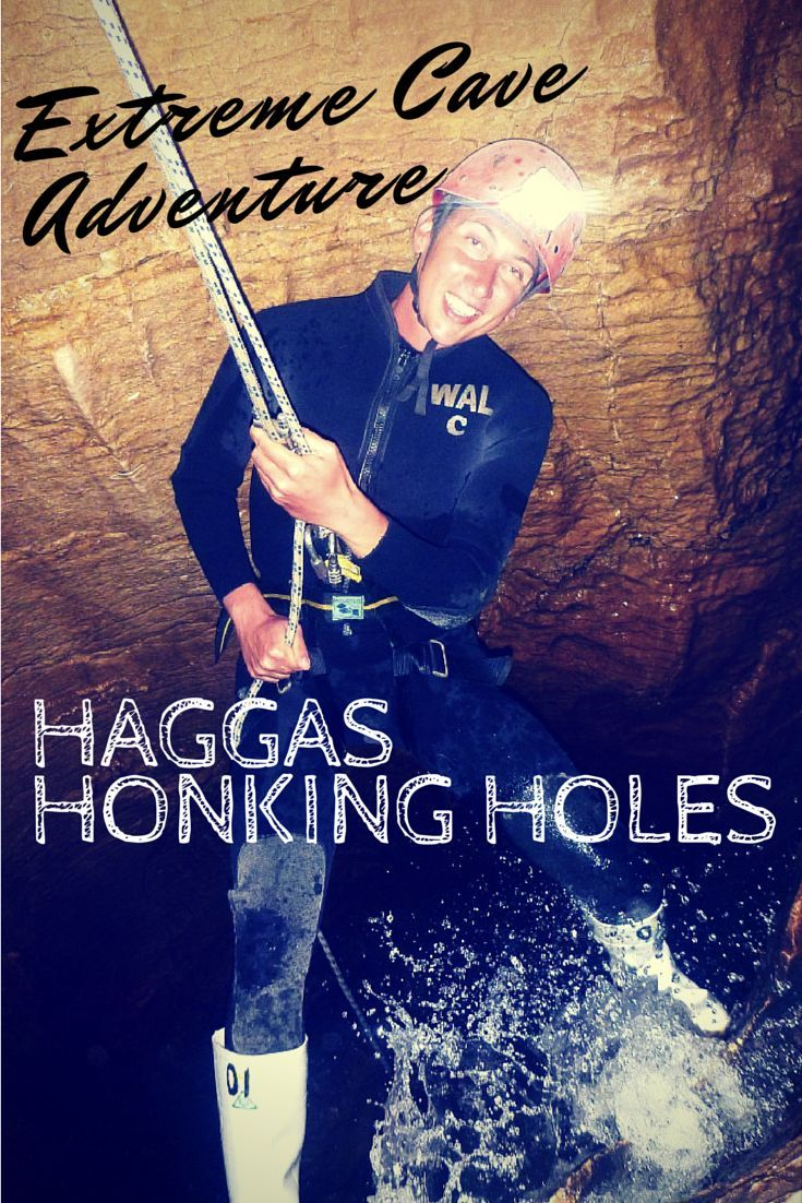 """Not for claustrophobes! Explore this extreme cave tour in Waitomo, New Zealand!  The Haggas Honking Holes excursion is described as being """"like Indiana Jones in a washing machine,"""" which is so spot on!"""