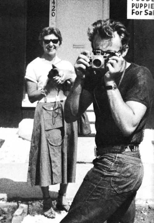 James Dean was not only a talented actor, but also a good photographer.