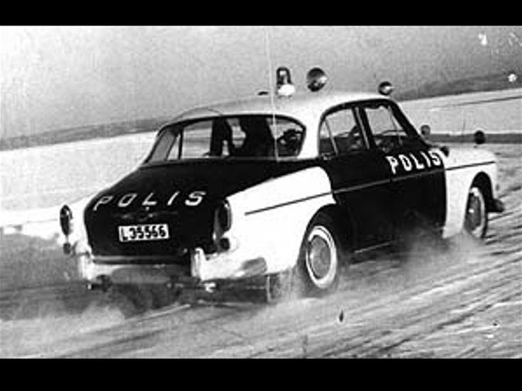 Volvo Amazon Police Car