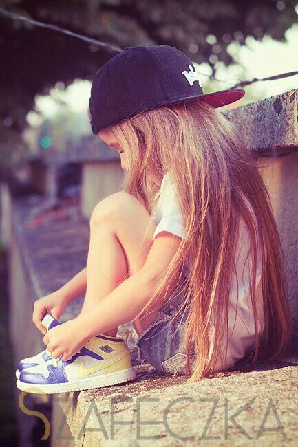 Cutest little skater girl ever :)