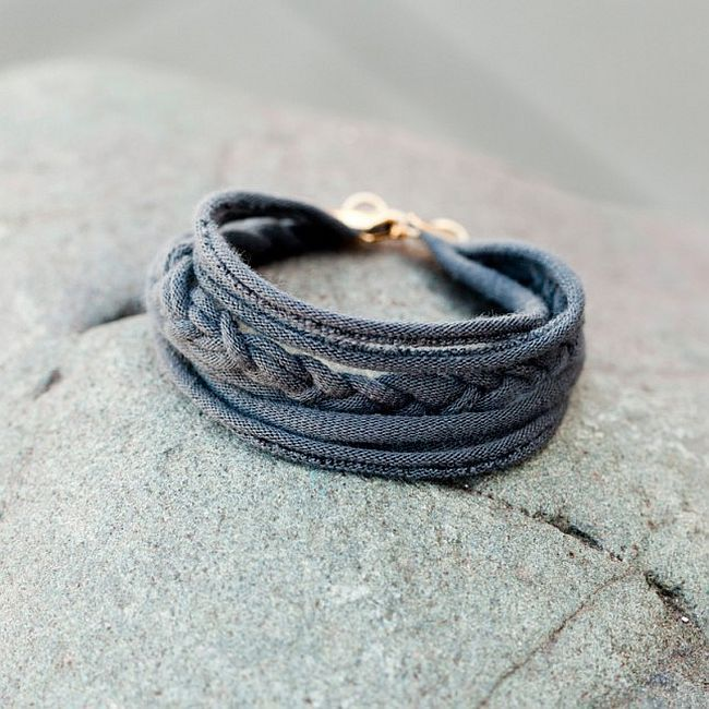 11 Fun and Fashionable Upcycled DIY Bracelets You'll Adore!