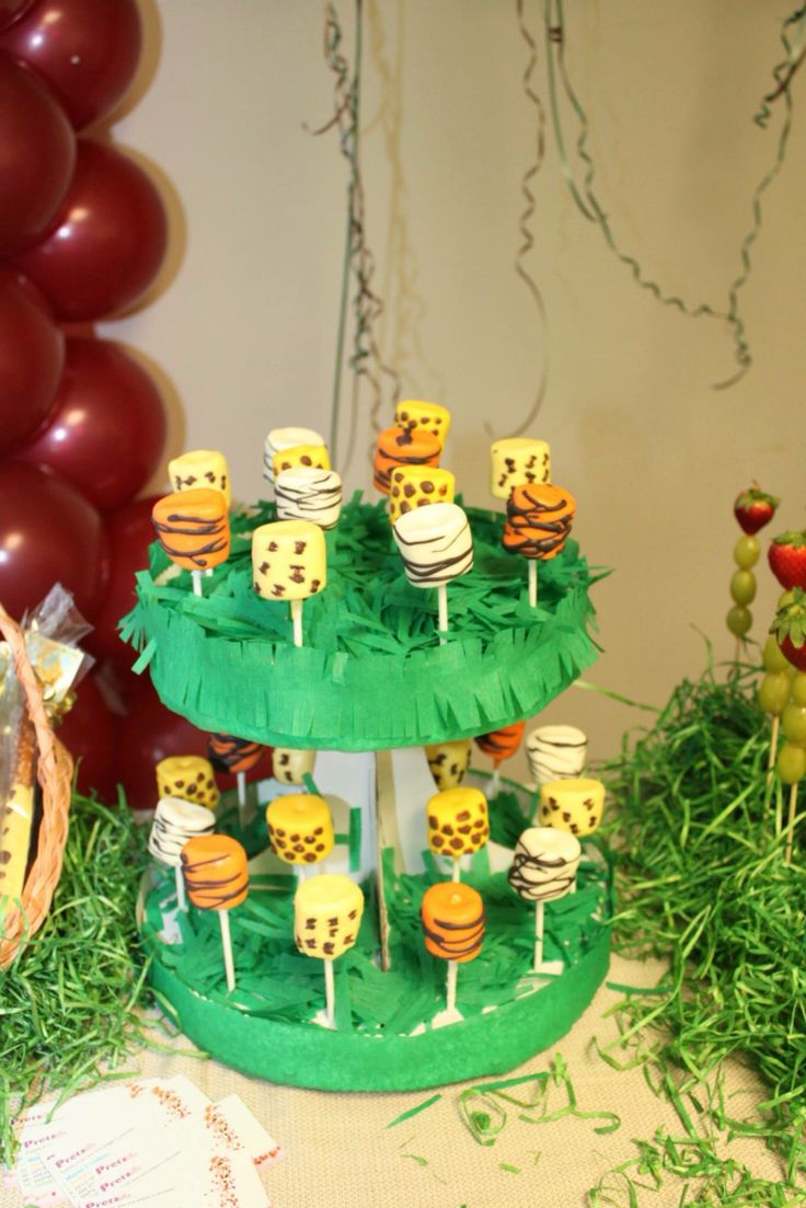 25 best ideas about safari candy table on pinterest for Dekoration fur babyparty
