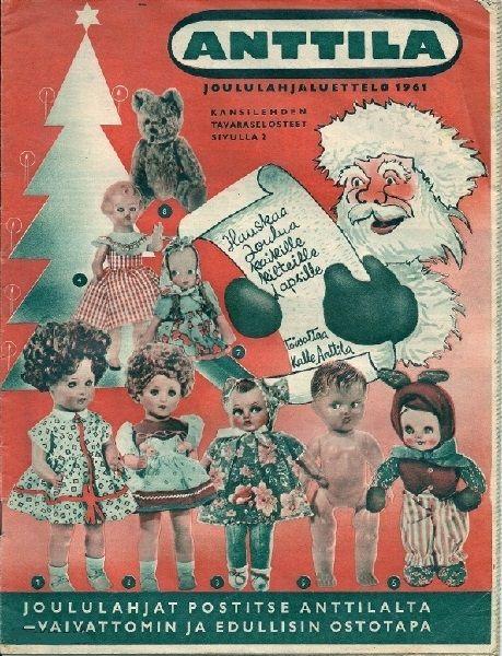 Anttila, Joululahjaluettelo 1961