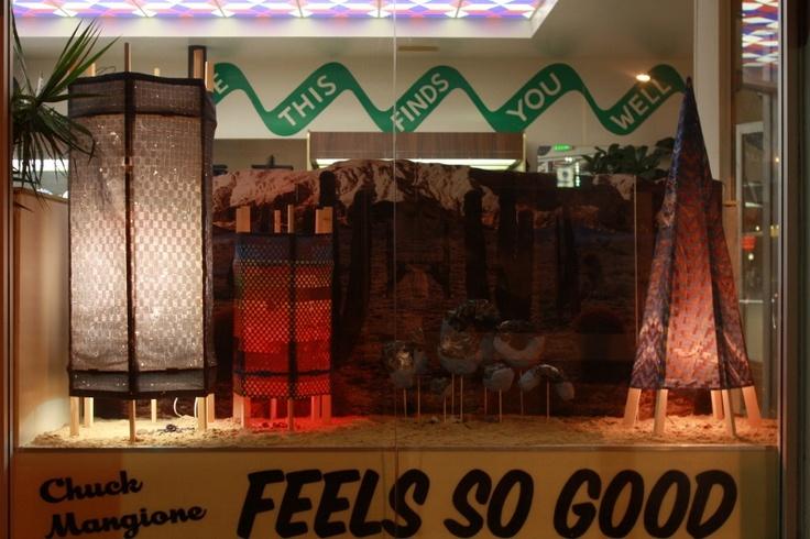 Kylea Borges installation for RVCA LA: Exhibition Design, Exhibitions Design