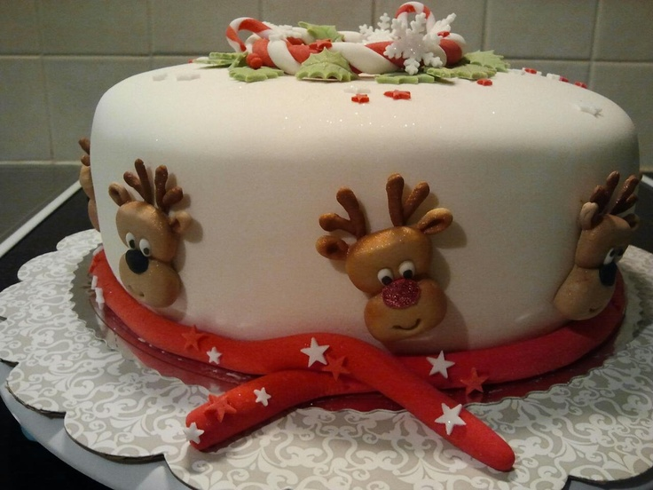 Sugarpaste Rudolf ;)