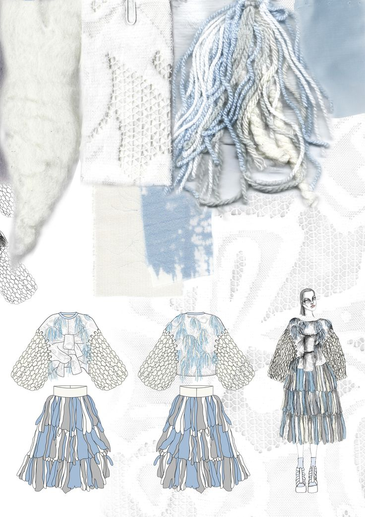 Fashion Sketchbook - fashion illustrations & knit samples; fashion portfolio // Giryung Kim