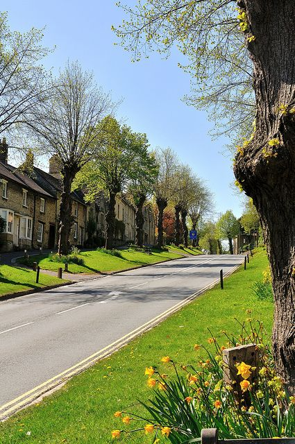 Burford, Cotswolds, England