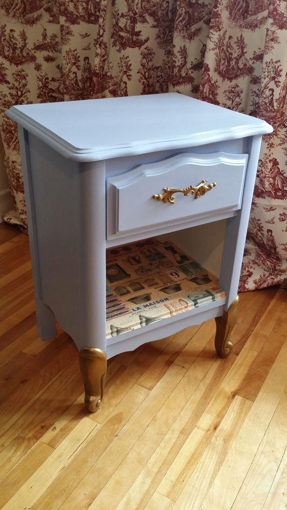 Upcycled nightstand - Au chalet vintage
