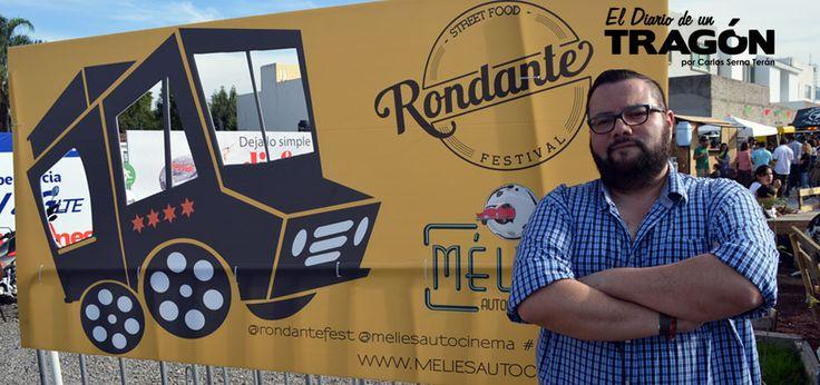 Rodando en Rondante Festival Food Trucks. La experiencia de este #Tragon en el RONDANTE FESTIVAL el 9/NOV/14