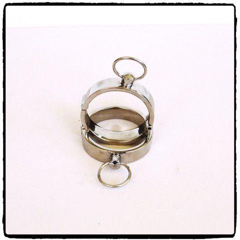 Slim Stainless Steel Wrist Cuffs – Lady Kink