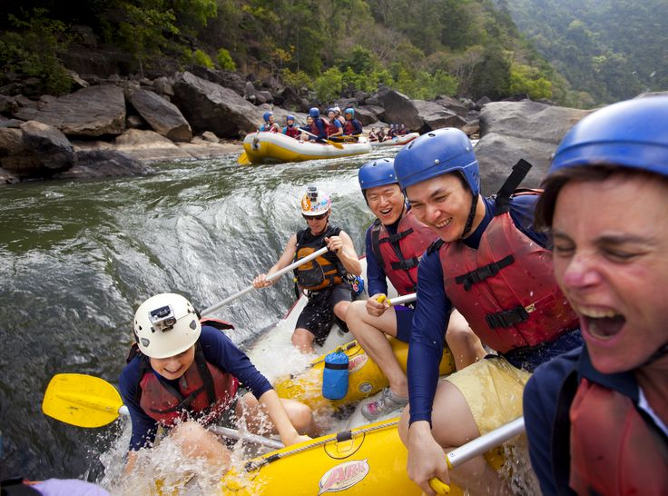 White Water Rafting in Tully, Australia- amazing!!!!