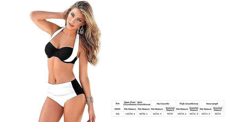 Women Sexy Halter Push Up Bikini Swimsuit (Size XXL) Sexy Bikinis 5170204 - https://xtremepurchase.com/TechStore/2016/09/01/swimming-gears-sexy-bikinis-5170204/