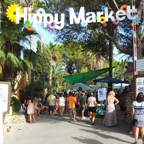 Wednesdays 14:30 - 18:00: Hippy Market in es Canar, Islas Baleares