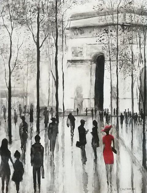 After the rain, Paris - Graham Colthorpe