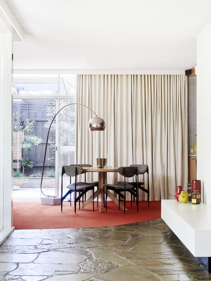 The Beaumaris Mid Century home of Grazia Materia and Steve Parry. Photo – Eve Wilson. Production – Lucy Feagins / The Design Files.