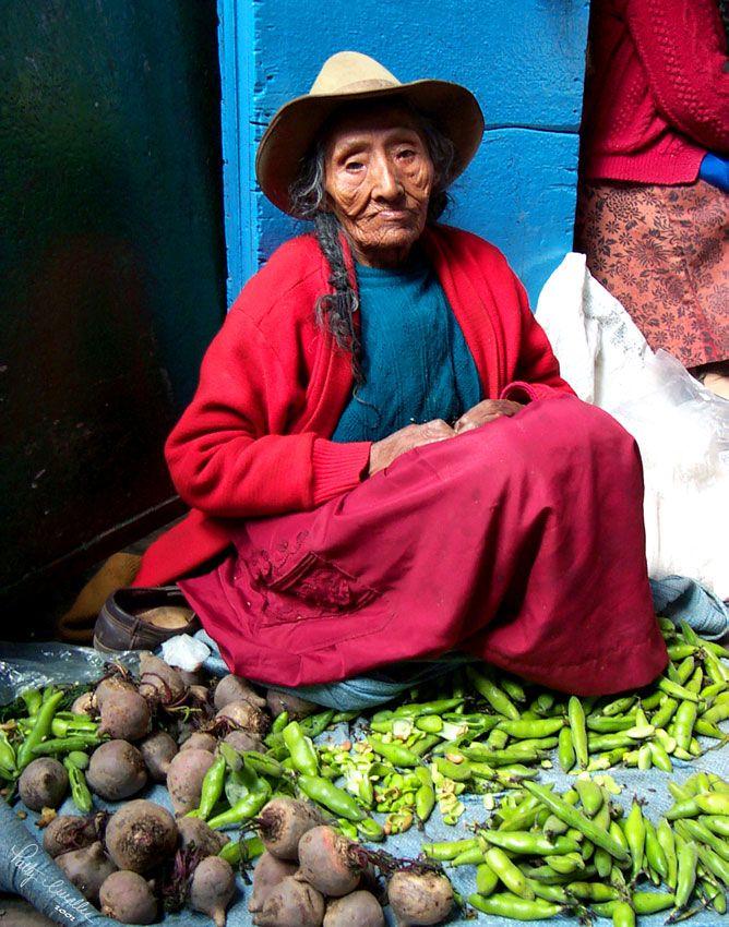 Beautiful woman: Peru