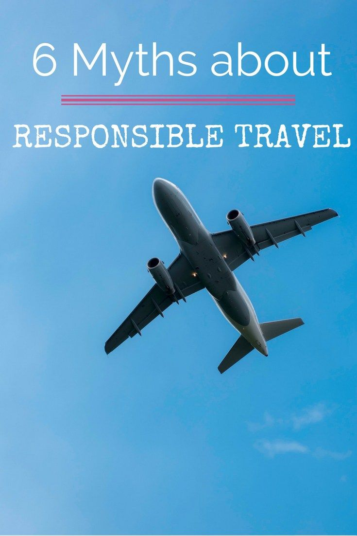 It is important that you realize that if we keep traveling like this, tourism and travel will not stay the same. Understanding that there is a role we need to play by acting and behaving responsible at home AND during travels is a great start. This is where responsible tourism comes in. There are, however, many myths and misconceptions when it comes to responsible travel. Unveiling some for you right now!  - By http://wonderluhst.net