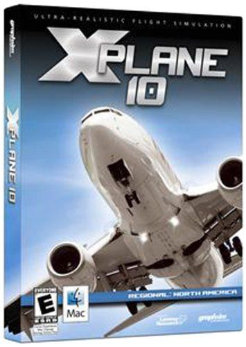 X-Plane 10 Regional: North America – Mac