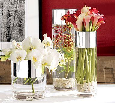 Just for a little color: Decor, Modern Centerpieces, Ideas, Flowers Centerpieces, Parties, Flowers Arrangements, Vases, Flowers Vase, Center Pieces