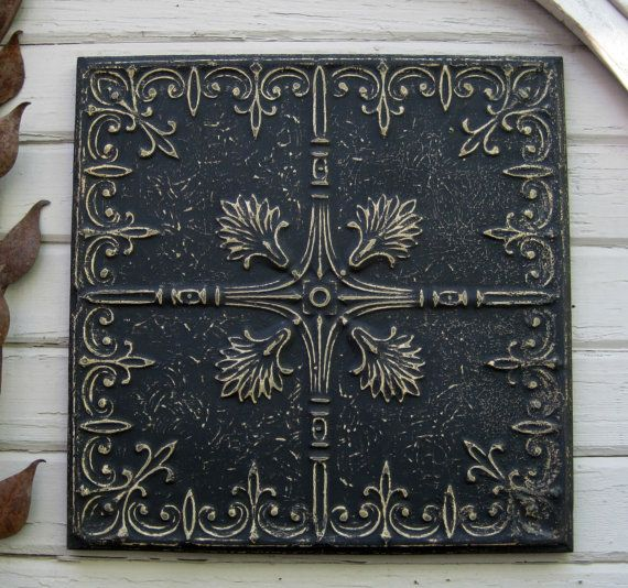 54 Best Images About Ceiling Tins In Black On Pinterest