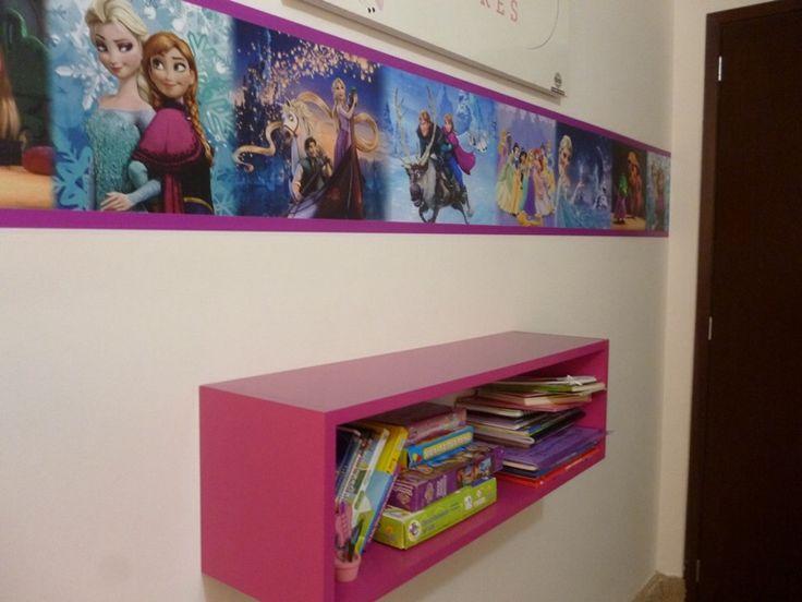 Cenefas para decorar habitaciones infantiles decoraci n - Pegatinas pared infantiles disney ...
