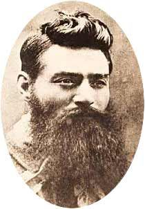 "Ned Kelly is Australia's most famous bushranger. He was the son of a criminal sent to Victoria, and had several incidents with the police. He fought against the colonial autorities in the 1880's. Many believe his last words were: ""Such is life"", it isn't actually true, but it represents the easygoing attitude of the Australian people."