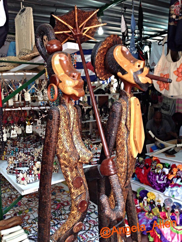 At the market in Varadero