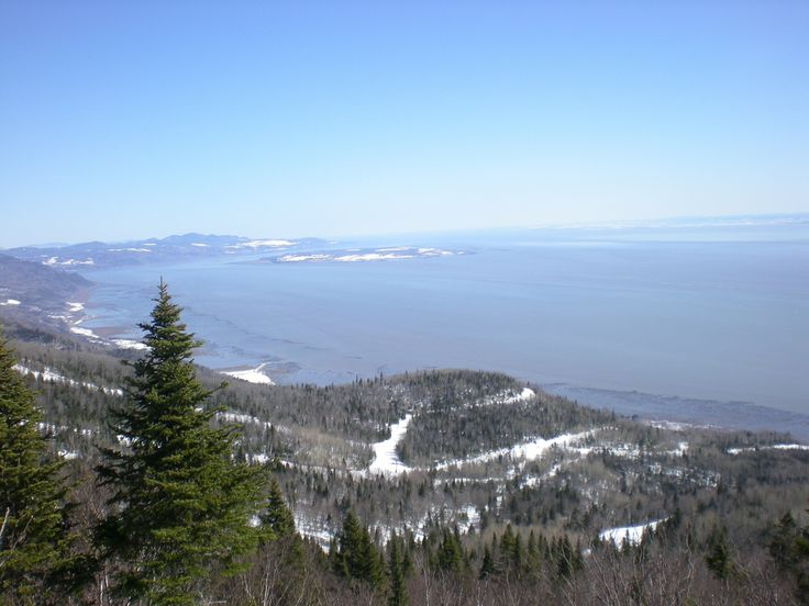 Greetings from Quebec! » Le Massif looking towards Baie St. Paul