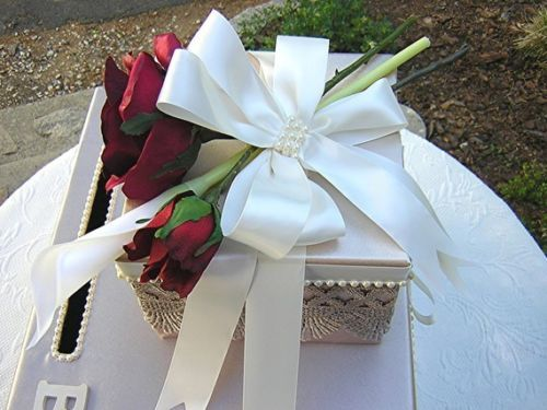 Victorian Inspired Wedding Gift Card Money Box CUSTOMIZE