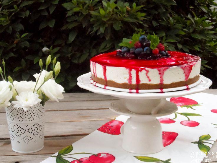7gramas de ternura: Cheesecake de Frutos de Verão