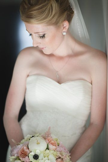 Photo from Kiel & Stephanie collection by chris mclaughlin photography wedding hair & makeup by blondiesbeautyshop.com