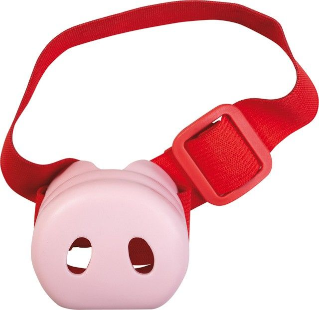 Oink, oink! What a Christmas ham! Now you can be a total pig without even putting on a kilo over the festive season thanks to this pig's nose from Haba. Made of soft pink plastic, it has two convenient breathing nostrils and a durable and adjustable strap to secure your snout to your noggin #haba #dressup #Christmas2013 #stockingstuffers