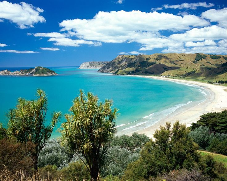 Anaura Bay East Coast New Zealand