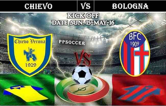 Chievo vs Bologna 15.05.2016 Free Soccer Predictions, head to head, preview, predictions score, predictions under/over previus meeting italy serie A