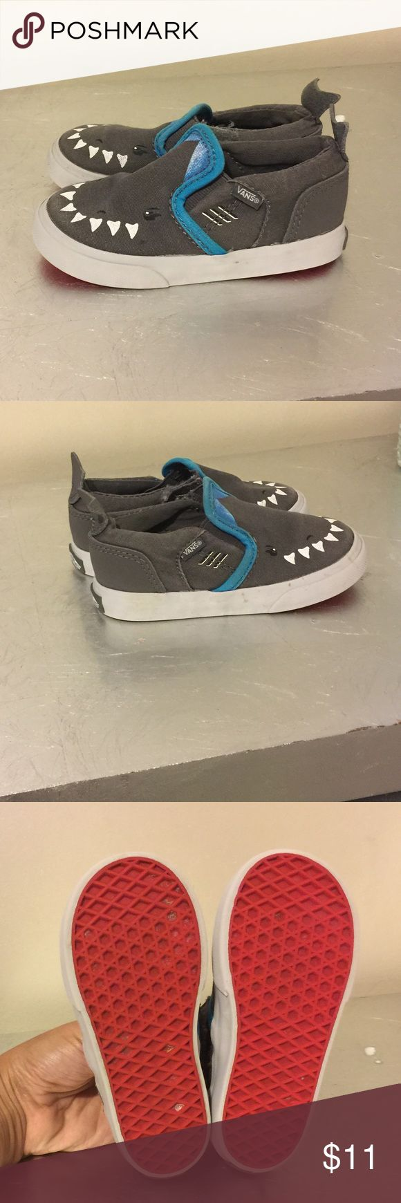 Vans for boy toddler Good condition. My son loved these. Vans Shoes Sneakers