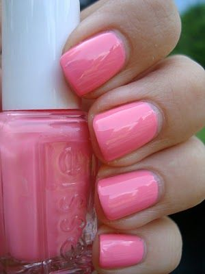 Essie - Knockout Pout. Perfect pink.