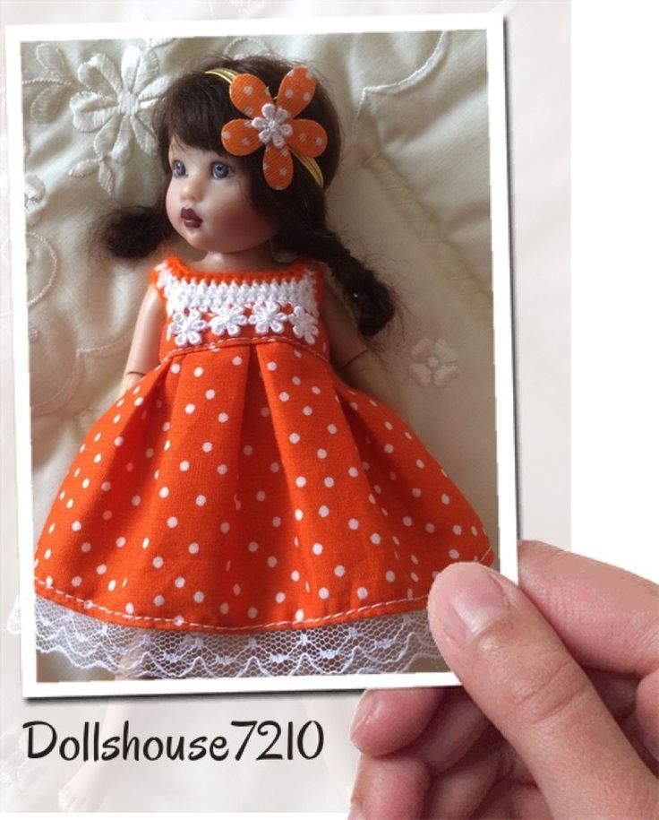 "Handmade Crochet&Fabric outfit for 7.5-8"" Kish Riley Helen Kish,Tonner BJD | eBay"